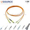 Telecom Industrial MultiMode SC LC duplex fiber patch cord