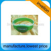uhf silicon wristband with alien chip for marathon timing system