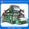 High quality turn-key project toilet tissue paper machine to make toilet tissue roll prices