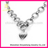 Heart Shape Woman Stainless Steel Necklace Extender Chain
