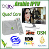 Best Arabic IPTV box Android tv box with more than 460 HD Free Arabic channels bein sports,OSN,MBC pro,Sky sports