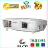 New products on china market 3 LCD projector led 3000 lumens,cinema projector