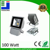 High brightness 100W outdoor lighting IP65 waterproof RGB/Cool white/Warm White LED flood light