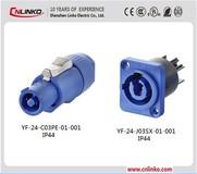 Alibaba Factory IP67 Waterproof Auto Electrical Wire Connectors Screw Lock Wiring Waterproof Connector