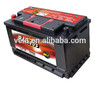 Maintenance free battery for vehicle battery PERSEUS DIN 88