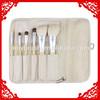 6pcs mini handmade makeup brush set