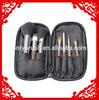 7pcs traveling makeup brush set
