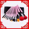12 pcs custom makeup cosmetic brush set