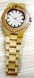 luxury Roles natural bamboo watch wood watch bamboo