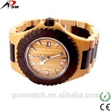 Japan quartz fashion dial luxury wood watch manufacturer wood watch oem