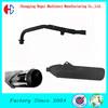 High Heat Resistant DC01 Steel Chrome Muffler In Muffler