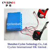 High quality Unicycle battery 60V 2.2Ah ,composed by 22P 18650 li ion battery cell Self-balancing electrical unicycle