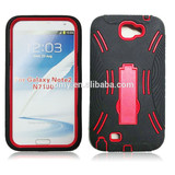 2 in 1 high quality armor case for Samsung galaxy NOTE2 various color
