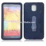 2 in 1 high quality armor case for Samsung galaxy NOTE3 various color