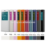 Popular mobile phone/cell phone/leather/back cover case for Galaxy S5