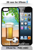 New mobile phone case for iPhone 6 case with 3D stereo image