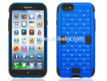2 in 1 high quality armor case for iphone 6 various color