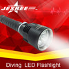 Hot selling CREE LED Diving flashlight 2500Lm with 18650 rechargeable batteries