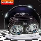 Hot selling OWL CREE Led bicycle light 18650 Rechargeable battery