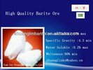 Factory Price White Barium Sulfate