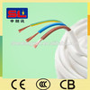 Copper Stranded Wire 3 Core Flexible Flat Cable