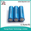 lithium battery cell li-ion battery cells LG 18650 2200mah 3.7v laptop battery cells