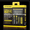New 2014 Nitecore D4 Lcd Battery Charger Universal Smart Intelligent Digital 2.0 Fit LI-ion NiCd NiMh AA18650+ Nitecore D4