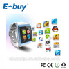 201New LED cool touch screen smart watch with GSM chipset ,GPS smart phone watch watch cellphone