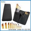 Pop Up Stand Carrying Case 12 Piece Paint Brush Set