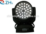 Hot & New!!! 36*10W RGBW 4 In 1 LED Zoom Moving Head Light