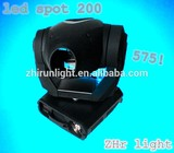 high quality similar to 575 spot 200W led spot moving head pro spot 200