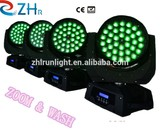 High Quality 36*12w RGBW Led Moving Head Light wash Zoom