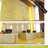 Commercial Polished Hanma Beige Marble Wall Tiles