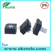 Smd Style Rotary Switch Changeover Switch Black