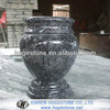 Granite tombstone vases design