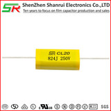 Metallized Polyester Film Capacitors-Axial CL20 MEA/MET 824J 250V
