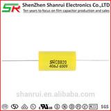 CBB20 406J 400V suppression metallized polypropylene film capacitor Axial