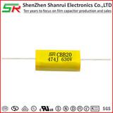 Axial capacitor CBB20 MPA MPT Metallized polypropylene film capacitors
