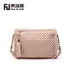 2014 fashion women shoulder bags rivets tassel design PU handbag manufacture