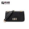 2014 new fashion famous brand name designer handbag crocodile PU shoulder handbag manufacture