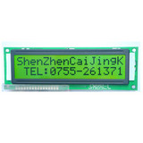 16x2 character lcd module with LED backlight