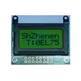 8x2 character lcd module with LED backlight