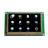4.3 inch smart terminal lcd module support RS232.RS485.TTL