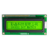 160x32 STN graphical lcd module display with LED backlight