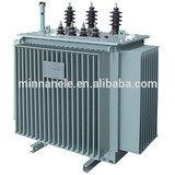 630KVA Distribution transformer 20kv to 0.4kv oil immersed transformers outdoor