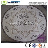 Top-quality marble mosaic medallion