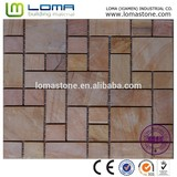 New design travertine mosaic, stone mosaic for wall decoration
