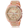 GE0769 Rose Gold Bone Color Quartz Japan Movt Fashion Girls Wristwatch