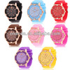 GE0627 in style 2014 silicone band fancy crystal high profile ladies quartz watches
