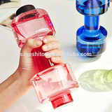 New arrival wholesale BPA free 550ml Dumbbell water bottle
